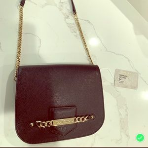 Authentic Black Leather Crossbody by Jimmy Choo